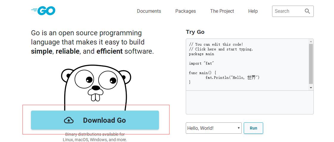 GoLand – Windows系统下载、安装、配置Go语言环境-StubbornHuang Blog