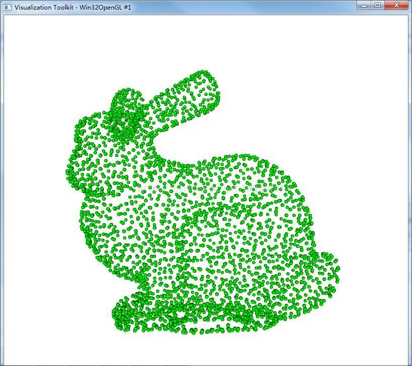 VTK以批量三维点坐标为中心(点云)绘制球体,可用于标识特征点或者是化学分子-StubbornHuang Blog