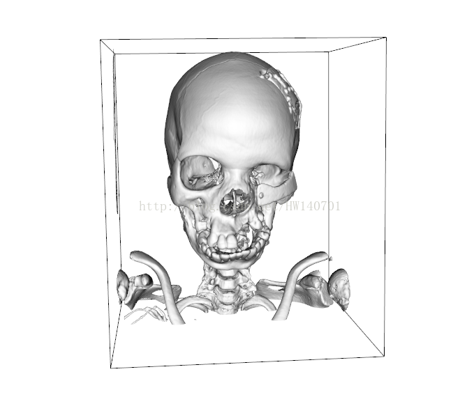 VTK读取序列的Dicom医学图片,用Marchingcube进行重建,并保存为obj文件-StubbornHuang Blog