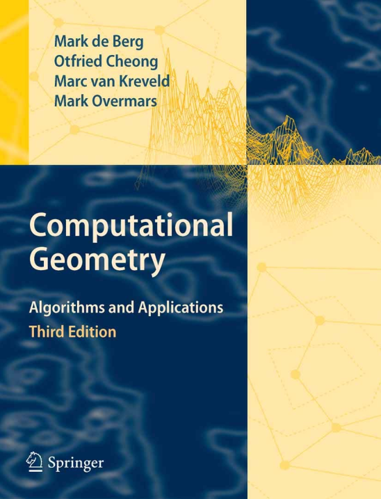 资源分享 – Computational Geometry – Algorithms and Applications, 3rd Edition英文pdf下载