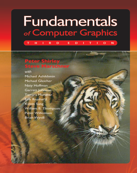 资源分享 – Fundamentals of Computer Graphics, Third Edition高清英文PDF下载-StubbornHuang Blog