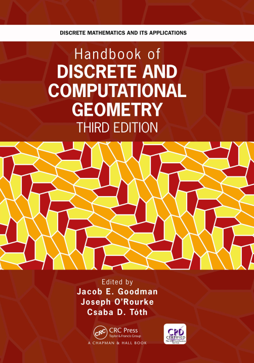 资源分享 – Handbook of Discrete and Computational Geometry, Third Edition英文高清PDF下载