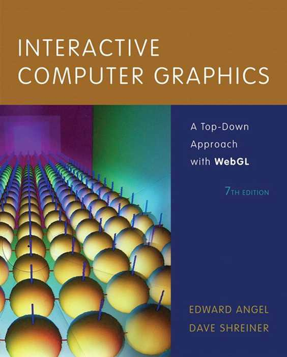 资源分享 – Interactive Computer Graphics – A top-down approach with WebGL(Seven 7th Edition)英文高清PDF下载