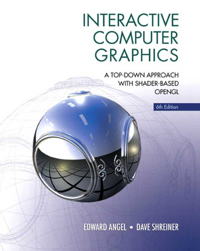 资源分享 – Interactive Computer Graphics – A top-down approach with shader-based OpenGL(Six 6th Edition)英文高清PDF下载