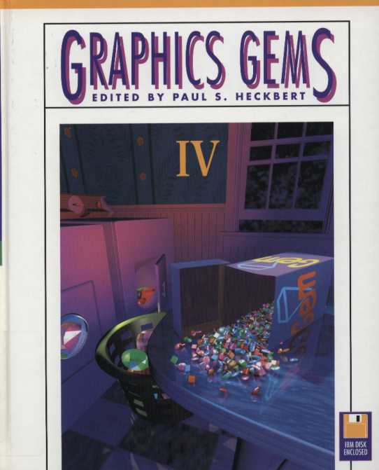 资源分享 – Graphics Gems IV 英文高清PDF下载