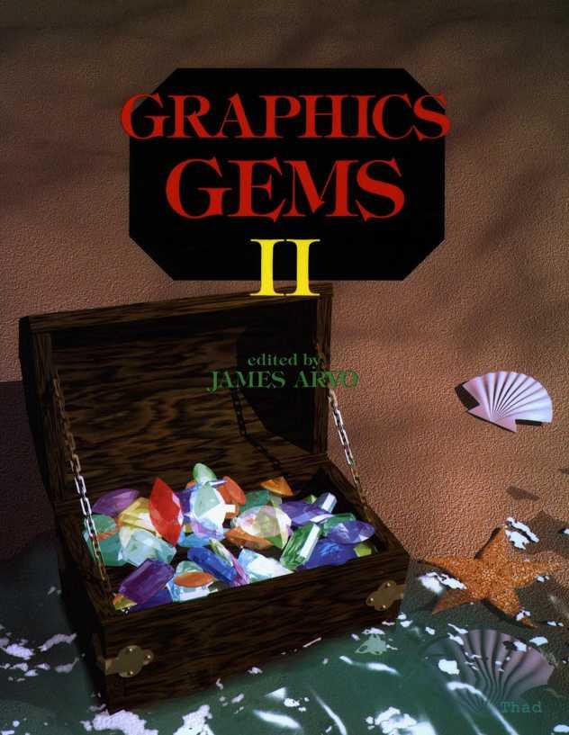 资源分享 – Graphics Gems II 英文高清PDF下载-StubbornHuang Blog