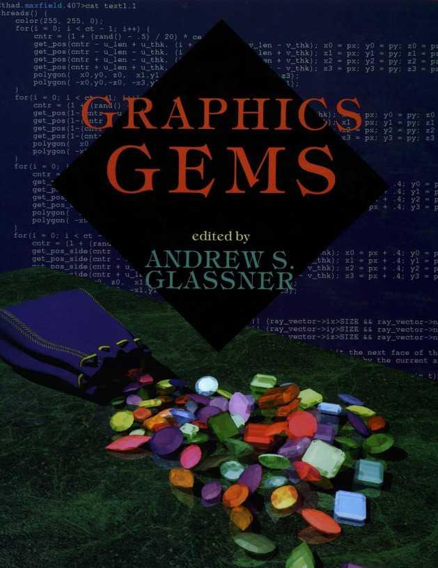资源分享 – Graphics Gems I 英文高清PDF下载