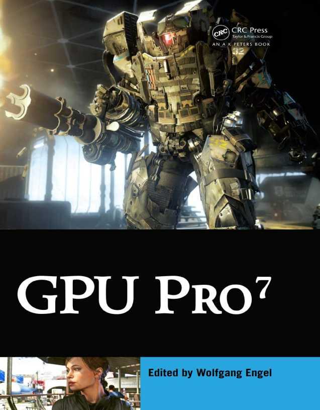 资源分享 – GPU Pro 7 – Advanced Rendering Techniques 英文高清PDF下载