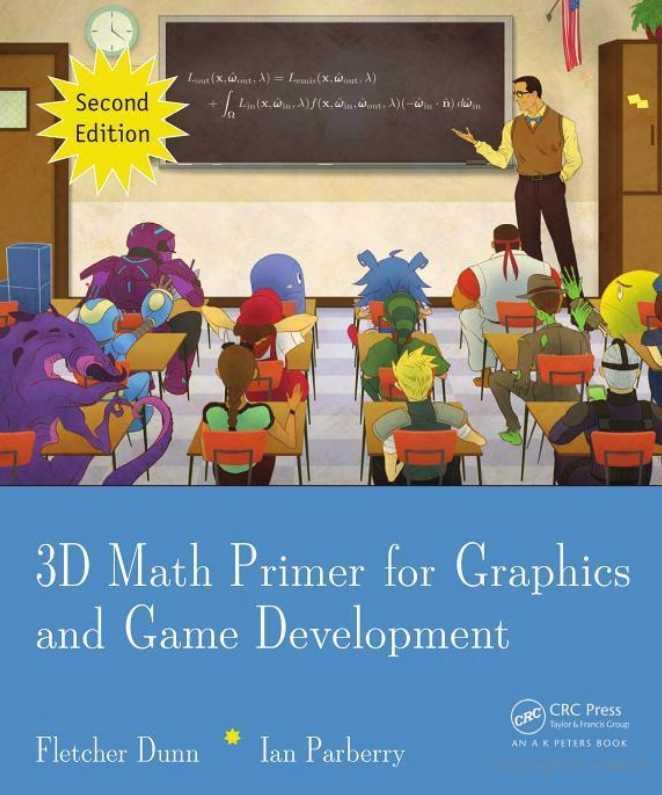 资源分享 – 3D Math Primer for Graphics and Game Development (Second Edition) 英文高清PDF下载-StubbornHuang Blog