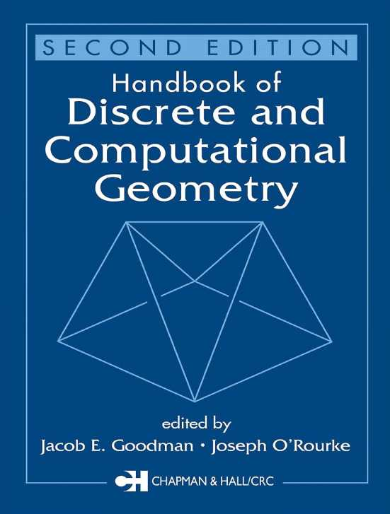 资源分享 – Handbook of Discrete and Computational Geometry, Second Edition 英文高清PDF下载
