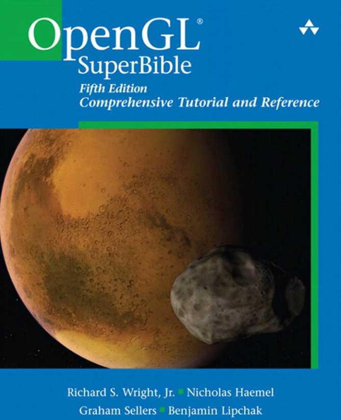 资源分享 – OpenGL SuperBible – Comprehensive Tutorial and Reference (Fifth Edition) OpenGL蓝宝书第5版英文高清PDF下载