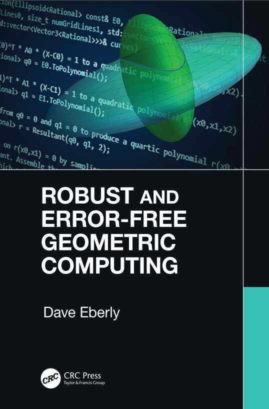 资源分享 – Robust and Error-Free Geometric Computing 英文高清PDF下载