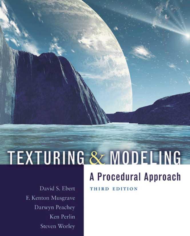 资源分享 – Texturing and Modeling – A Procedural Approach, Third Edition 英文高清PDF下载