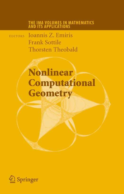 资源分享 – Nonlinear Computational Geometry 英文高清PDF下载
