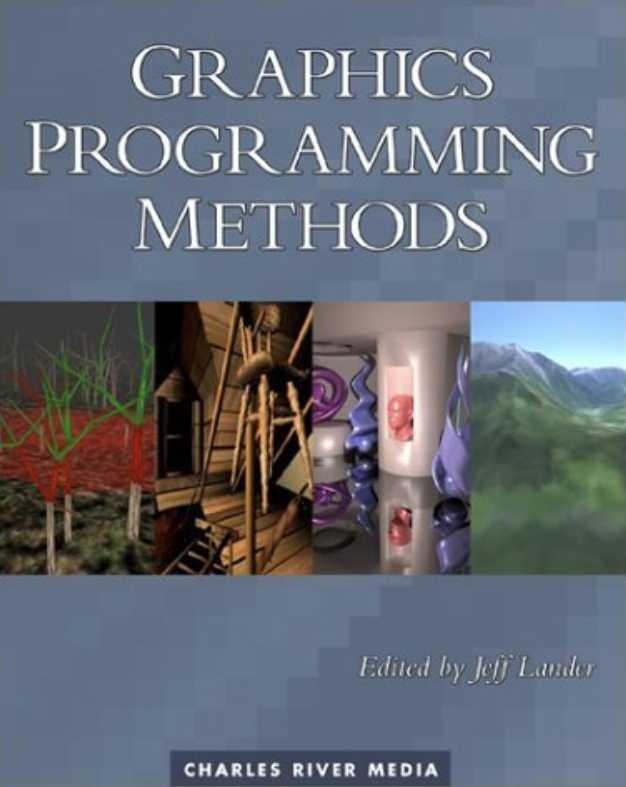 资源分享 – Graphics Programming Methods 英文高清PDF下载