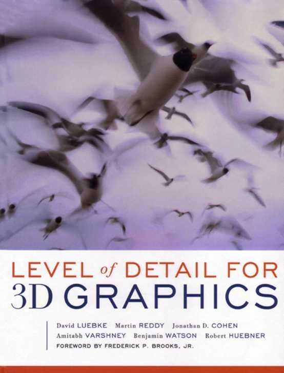 资源分享 – Level of Detail for 3D Graphics 英文高清PDF下载