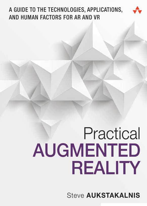 资源分享 – Practical Augmented Reality – A Guide to the Technologies, Applications, and Human Factors for AR and VR-Addison 英文高清PDF下载-StubbornHuang Blog